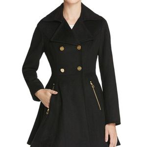 Chinese Laundry black A line coat